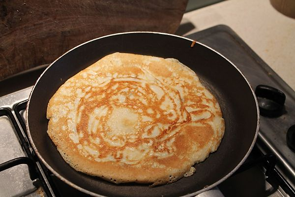 how to make pancakes in a frying pan