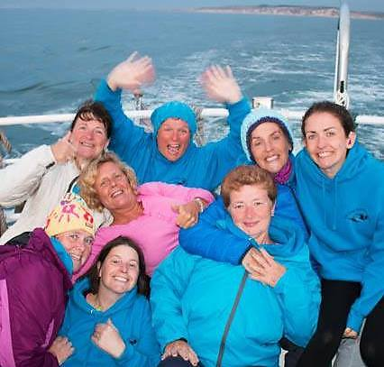 The irish women's deaf swimming team