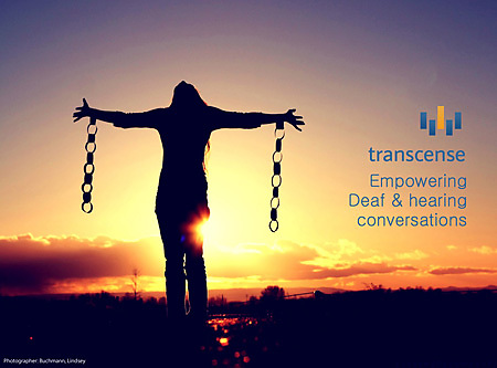 Transcense Mission: Empowering Deaf & Hearing Conversations