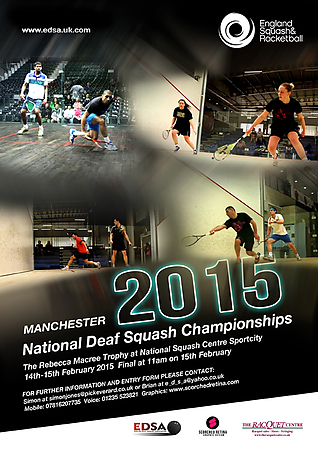 National Deaf Squash Championships 2015